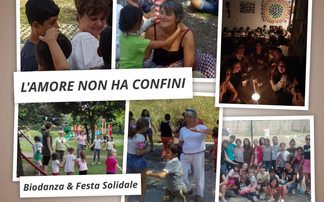 Domenica 13 ottobre BIODANZA & FESTA SOLIDALE in Parco Oasi Rossi INVITO APERTO A TUTTI